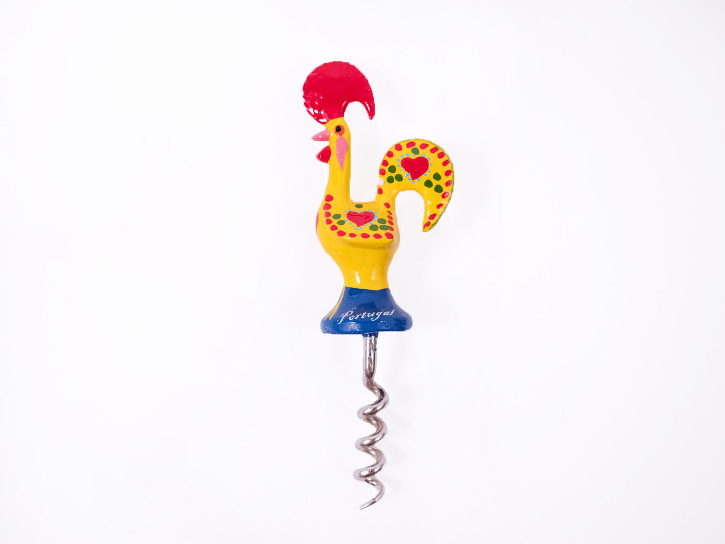 Galo de Barcelos _ Cork Screw 13cm Yellow