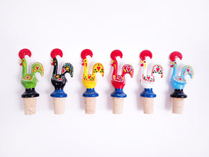 Galo de Barcelos _ Cork Stopper 11cm Red