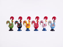 Load image into Gallery viewer, Barcelos Rooster _ Magnet 8cm Black