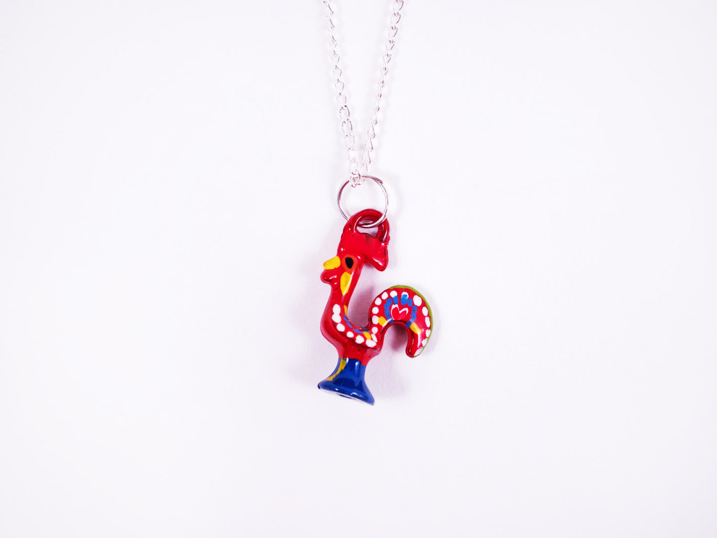 Barcelos Rooster _ Necklace Red