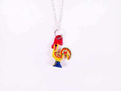 Barcelos Rooster _ Necklace Yellow
