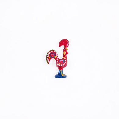 Barcelos Rooster _ Lapel Pin _ Red