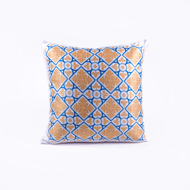 Pillow _ Diamond Flower Yellow