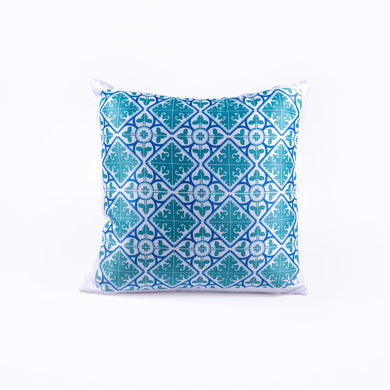 Pillow _ Diamond Flower Green