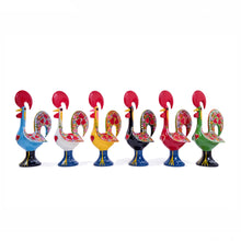 Load image into Gallery viewer, Galo de Barcelos Rooster _ 35cm Metal _ White