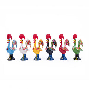 Galo de Barcelos Rooster _ 25cm Metal _ Red