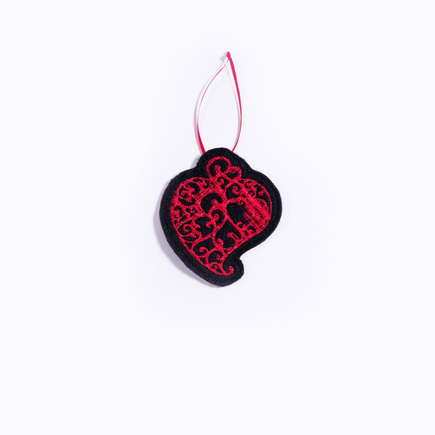 Heart of Viana Ornament _ Black