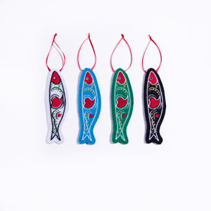 Sardine Ornament _ Black
