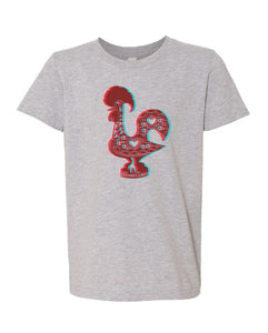 3D Luís _ Youth Tee Heather Grey