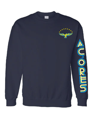 Old School Açores _ Pullover Navy