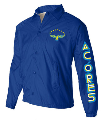 Old School Açores _ Coach Jacket Royal Blue