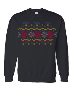 Fair Isle Luís _ Pullover Black