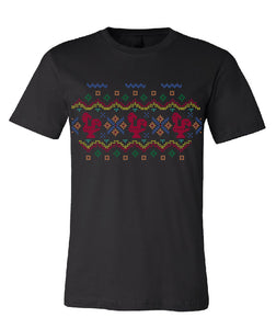 Fair Isle Luís _ Adult Tee Black