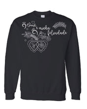 Load image into Gallery viewer, Felicidade _ Pullover Black