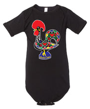 Load image into Gallery viewer, OG Luís _ Baby Bodysuit Black