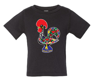 OG Luís _ Toddler Tee Black