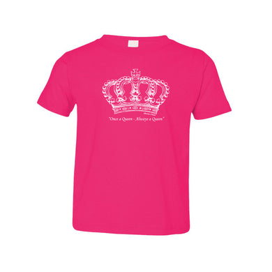 Once a Queen, Always a Queen _ Toddler Tee Berry