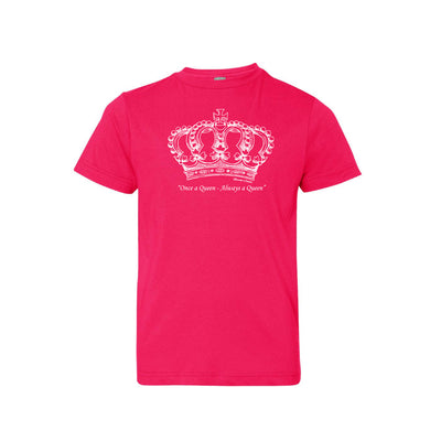 Once a Queen, Always a Queen _ Youth Tee Berry
