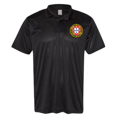 Portugal Escudo Polo _ Black