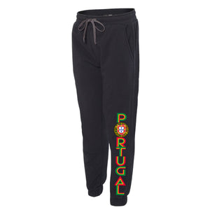 Old School Portugal _ NEW FIT Sweat Pant Black