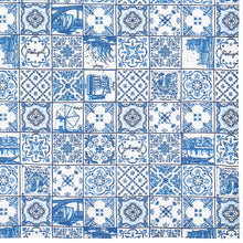 Load image into Gallery viewer, Azul Tile Table Cloth