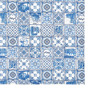 Azul Tile Table Cloth