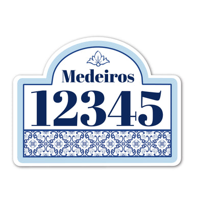 Home Sign Regal _ Scrolling Azulejos