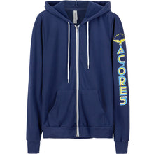 Load image into Gallery viewer, Old School Açores _ Zip Hoodie Navy