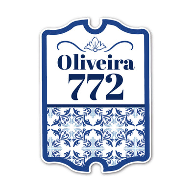 Home Sign Antique  _ Victorious Azulejos