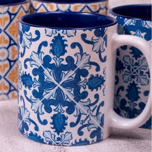 Load image into Gallery viewer, Blooming Azulejos _ Mug