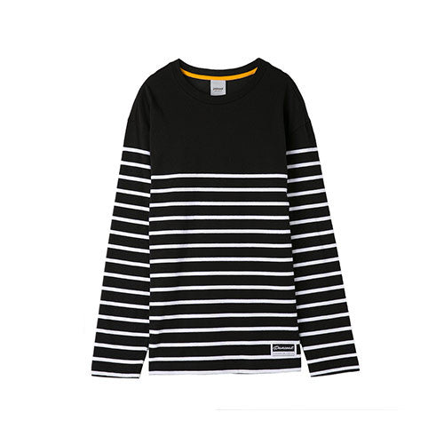 PANCOAT NEW STRIPES LONG SLEEVE PPOSARL01PC6 (MIDNIGHT BLACK)