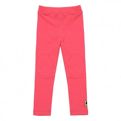 PKOHPLG02WP7 POPEYES KIDS BASIC LEGGINGS (HOTCORAL PINK)