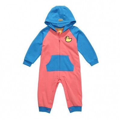 PKOHPPT60UP7 POPDUCK KIDS ALLINONE (HOTCORAL PINK)