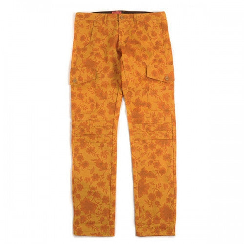 CRITIC GINKGO & MAPLE PATTERN CARGO PANTS (YELLOW)_CTOHICP01MYE