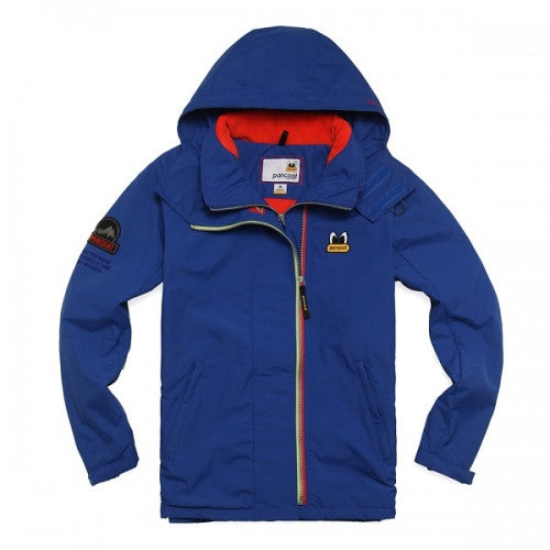 PANCOAT POPEYES HIGH NECK WINDBREAK JUMPER (NAVY BLUE)