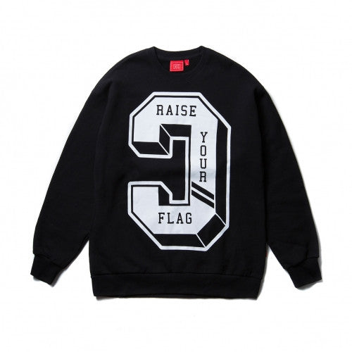 CRITIC BIG REVERSE C CREWNECK (BLACK)_CTOIICR05UBK