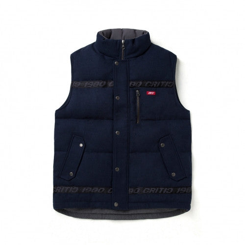 CRITIC WOOL PADDING VEST (NAVY)_CTOIIPV01MNV