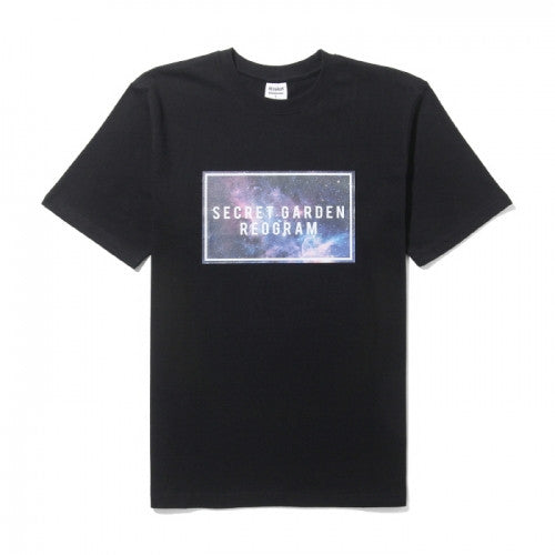 REOGRAM SQUARE STAR T-SHIRTS(BLACK)_RGABHB303BK