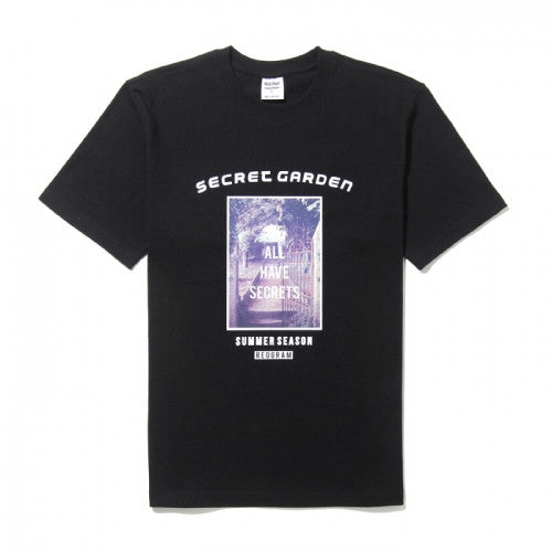 REOGRAM SECRET GARDEN T-SHIRTS(BLACK)_RGABHB304BK