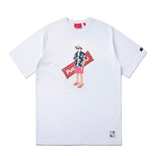 CRITIC PSYCHO BUTCHER TEE (WHITE) CTOSURS91UC2