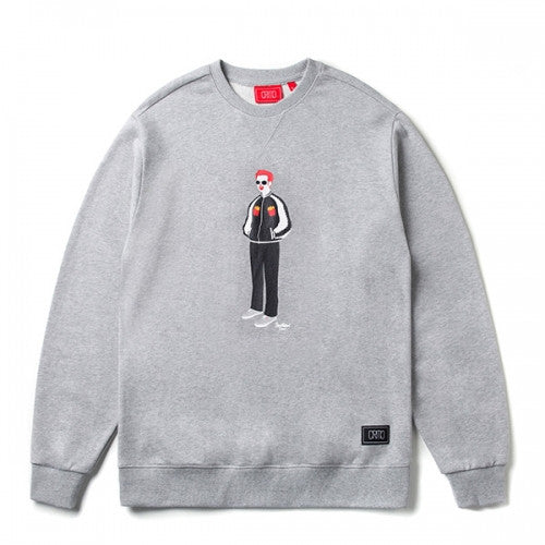 CRITIC PSYCHO BUTCHER SWEAT SHIRT(GREY)_CTOSACR02UC4