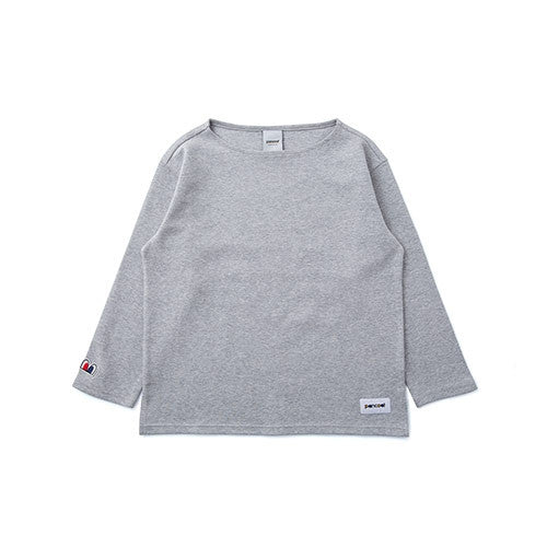 PANCOAT POP EYES COLOR CREWNECK (EP) (HEATHER GREY) PPOEPCR03EC4