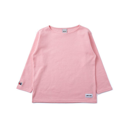 PANCOAT POP EYES COLOR CREWNECK (EP) (BROCHURE PINK) PPOEPCR03EP2