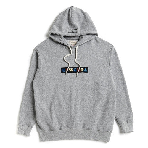 Beyond Closet [ODD FUTURE EDITION] NEEDLE LOGO HOOD GRAY