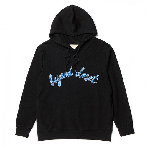 Beyond Closet NEW BASIC HOOD BLACK