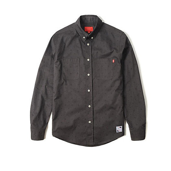 CRITIC CTOFALS02MGY MONOGRAM SHIRTS (GREY)