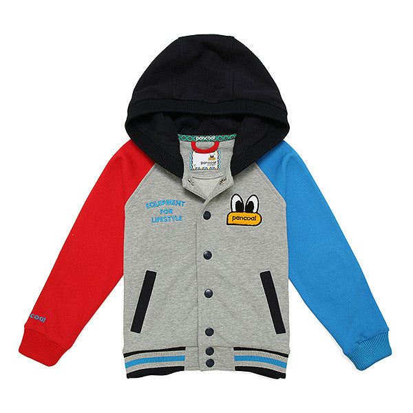 PKOHPSJ71UC4 POPEYES KIDS COLORATION STADIUMJUMPER(HEATHER GREY)