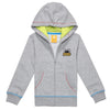 PKOHPHZ51UC4 POPEYES KIDS COLORSTITCH HOODIEZIPUP(HEATHER GREY)