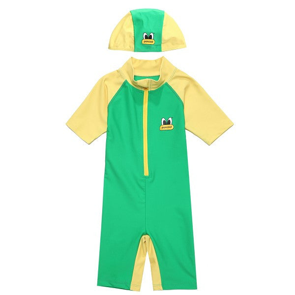 PKOHPSW50UG3 POPEYES KIDS SWIMSUIT (FOREST GREEN)