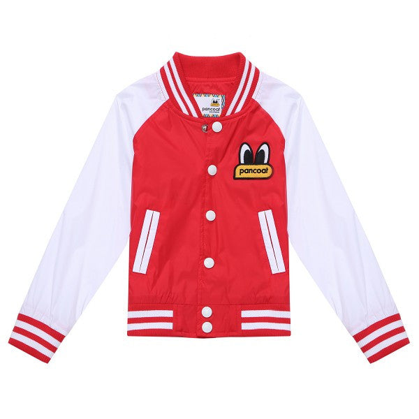 PKOHPWB02UR6 POPEYES KIDS SHIBORISTRIPE WINDBREAKJUMPER(LOLLIPOP RED)